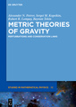 Couverture de l'ouvrage Metric Theories of Gravity