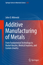 Couverture de l'ouvrage Additive Manufacturing of Metals