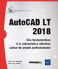 Couverture de l'ouvrage AutoCAD LT 2018