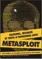 Couverture de l'ouvrage Hacking, sécurité et tests d'intrusion avec Metasploit