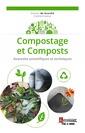 Couverture de l'ouvrage Compostage et Composts