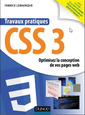 Couverture de l'ouvrage Travaux pratiques CSS3