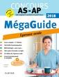 Couverture de l'ouvrage Méga Guide. Épreuve orale - Concours AS/AP 2018