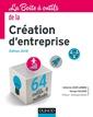 Couverture de l'ouvrage La boîte à outils de la création d'entreprise - édition 2018