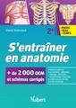Couverture de l'ouvrage S'entraîner en anatomie