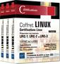 Couverture de l'ouvrage Linux - Coffret de 3 livres (2° Éd.)