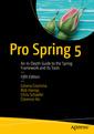 Couverture de l'ouvrage Pro Spring 5 (5th Ed.)
