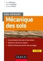Couverture de l'ouvrage Mécanique des sols