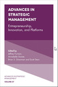 Couverture de l'ouvrage Entrepreneurship, Innovation and Platforms