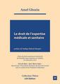 Couverture de l'ouvrage Le droit de l'expertise médicale et sanitaire