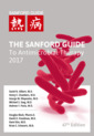 Couverture de l'ouvrage The Sanford Guide to Antimicrobial Therapy 2017 (Pocket Ed.)