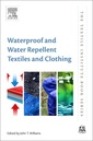 Couverture de l'ouvrage Waterproof and Water Repellent Textiles and Clothing