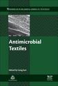 Couverture de l'ouvrage Antimicrobial Textiles