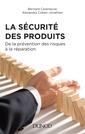 Couverture de l'ouvrage La Sécurité des produits