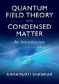 Couverture de l'ouvrage Quantum Field Theory and Condensed Matter