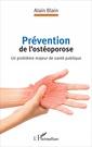 Couverture de l'ouvrage Prévention de l'ostéoporose