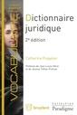 Couverture de l'ouvrage Dictionnaire juridique