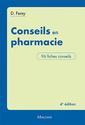 Couverture de l'ouvrage Conseils en pharmacie