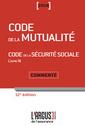Couverture de l'ouvrage Code de la mutualité 2018
