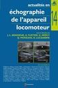 Couverture de l'ouvrage Actualités en échographie de l'appareil locomoteur - tome 14