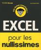 Couverture de l'ouvrage Excel pour les nullissimes
