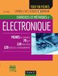 Couverture de l'ouvrage Exercices et méthodes d'électronique