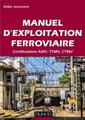 Couverture de l'ouvrage Manuel d'exploitation ferroviaire