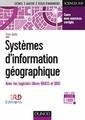 Couverture de l'ouvrage Systèmes d'information géographique