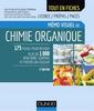 Couverture de l'ouvrage Mémo visuel de chimie organique