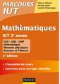 Couverture de l'ouvrage Mathématiques IUT 2e année