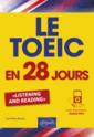 Couverture de l'ouvrage Le TOEIC en 28 jours
