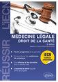 Couverture de l'ouvrage Médecine légale - Droit de la Santé