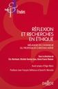 Couverture de l'ouvrage Réflexion et recherches en éthique