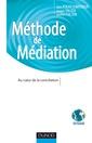 Couverture de l'ouvrage Méthode de médiation