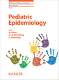 Couverture de l'ouvrage Pediatric Epidemiology