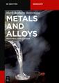 Couverture de l'ouvrage Metals and Alloys