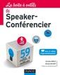 Couverture de l'ouvrage La Boîte à outils du Speaker-Conférencier