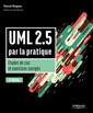 Couverture de l'ouvrage UML 2.5 par la pratique