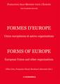 Couverture de l'ouvrage Formes d'Europe/Forms of Europe