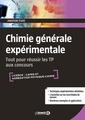 Couverture de l'ouvrage Chimie générale expérimentale