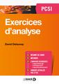 Couverture de l'ouvrage Exercices d'analyse PCSI