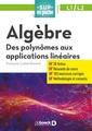 Couverture de l'ouvrage Algèbre