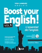 Couverture de l'ouvrage Boost your English!