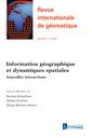 Couverture de l'ouvrage Revue internationale de géomatique Volume 27 N° 4/Octobre-Décembre 2017