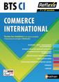 Couverture de l'ouvrage Commerce international BTS CI 1re et 2e années