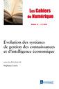 Couverture de l'ouvrage Les cahiers du numérique Volume 14 N° 1/Janvier-Mars 2018