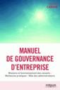 Couverture de l'ouvrage Manuel de gouvernance d'entreprise