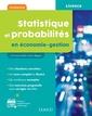 Couverture de l'ouvrage Statistique et probabilités en économie-gestion