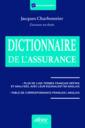 Couverture de l'ouvrage Le dictionnaire de l'assurance