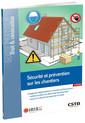 Couverture de l'ouvrage Sécurité et prévention sur les chantiers